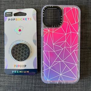 iPhone 12 Pro Max Case & Popsocket Combo